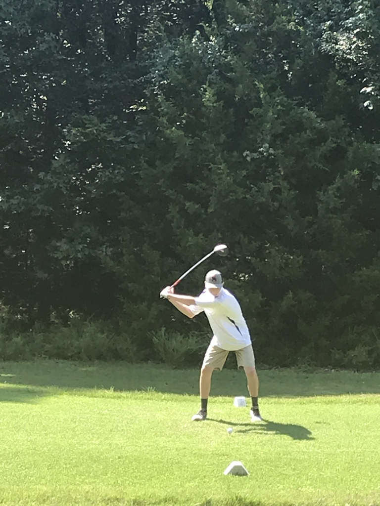 Zach crushes one off the tee