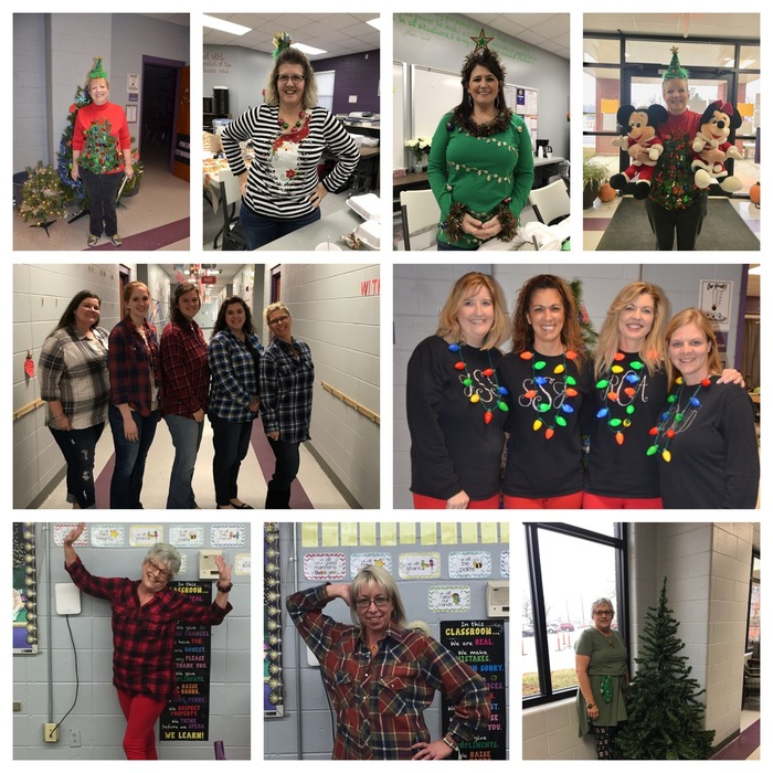 Concord Elementary is Rocking 12 Days of Christmas!!!