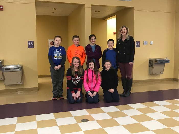 2017-2018 CES Chess Students