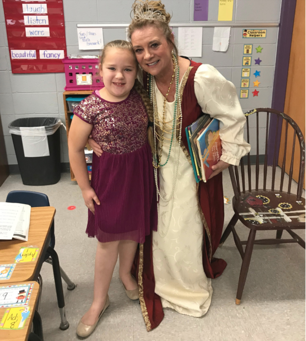 First Grade and Fairy Godmother